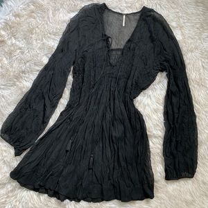 Price Drop❤️black small free people top/dress